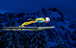 15.12.2017, Gross Titlis Schanze, Engelberg, SUI, FIS Weltcup Ski Sprung, Engelberg, im Bild Junshiro Kobayashi (JPN) // Junshiro Kobayashi of Japan during Mens FIS Skijumping World Cup at the Gross Titlis Schanze in Engelberg, Switzerland on 2017/12/15. EXPA Pictures © 2017, PhotoCredit: EXPA/JFK