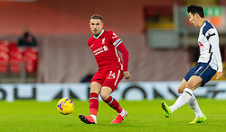 LIVERPOOL, ENGLAND - Wednesday, December 16, 2020: Liverpool's captain Jordan Henderson during the FA Premier League match between Liverpool FC and Tottenham Hotspur FC at Anfield. Liverpool won 2-1. (Pic by David Rawcliffe/Propaganda)