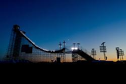 May 18, 2018 - Fornebu, NORWAY - 180518 General view of the OBOS Big Air Arena Fornebu ahead of the X Games Norway finals on May 18, 2018 in Oslo. .Photo: Vegard Wivestad GrÂ¿tt / BILDBYRN / kod VG / 170169 (Credit Image: © Vegard Wivestad Gr¯Tt/Bildbyran via ZUMA Press)