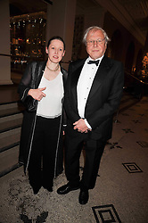 SIR DAVID ATTENBOROUGH and SUSAN ATTENBOROUGH at a dinner to celebrate the opening of 'Maharaja - The Spendour of India's Royal Courts' an exhbition at the V&A, London on 6th October 2009.