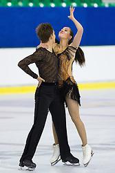 Daria Morozova and Mikhail Zhirnov of Russia at ISU Junior Grand Prix of Figure Skating Ljubljana Cup 2014 on August 29, 2014 in Hala Tivoli, Ljubljana, Slovenia. Photo by Matic Klansek Velej / Sportida