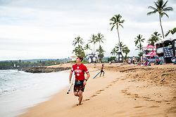 Griffin Colapinto of USA ready for heat 3 round 2 of the Hawaiian Pro at Haleiwa, Oahu, Hawaii, USA.