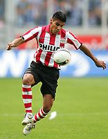 Fotball<br /> 28.07.2007<br /> Tyskland<br /> Foto: Witters/Digitalsport<br /> NORWAY ONLY<br /> <br /> Carlos Salcido<br /> Fussball PSV Eindhoven<br /> <br /> Testspiel MSV Duisburg - PSV Einhoven 2:1