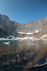 Iceberg Lake, Glacier National Park, Montana, US