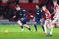 Stephen Humphrys of Southend United (39) in action during the EFL Sky Bet League 1 match between Doncaster Rovers and Southend United at the Keepmoat Stadium, Doncaster, England on 12 February 2019.