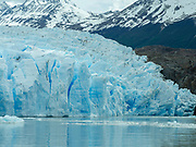 Glacier Gray and Lago Gray, Torres del Paine National Park, Chile.