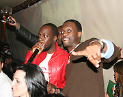 **EXCLUSIVE**.Wyclef Jean & Pras Michel.Nightclub Impresario, Joel Rousseau, hosts Pras Michelís of the Fugees, 34th Birthday Party .Cain Nightclub.Friday, October 20, 2006 .New York City, NY, USA.Photo By Selma Fonseca/ Celebrityvibe.com.To license this image call (212) 410 5354 or;.Email: celebrityvibe@gmail.com; .Website: http://www.celebrityvibe.com/. ....