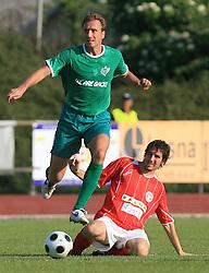Miha Sporar of Olimpija at final match of 2nd SNL league between NK Olimpija in NK Aluminij, on May 23, 2009, ZAK, Ljubljana, Slovenia. Aluminij won 2:1. NK Olimpija is a Champion of 2nd SNL and thus qualified to 1st Slovenian football league for season 2009/2010. (Photo by Vid Ponikvar / Sportida)