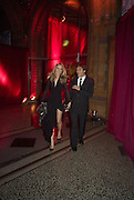 KIM HERSOV AND BARRY REIGATE. Cartier Dinner to celebrate the re-opening of the Cartier U.K. flagship store, New Bond St. Natural History Museum. 17 October 2007. -DO NOT ARCHIVE-© Copyright Photograph by Dafydd Jones. 248 Clapham Rd. London SW9 0PZ. Tel 0207 820 0771. www.dafjones.com.