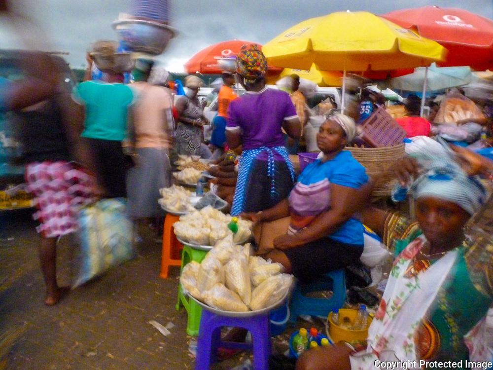 Market Blur by Bernadette Young