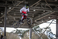 #377 (NAKAI Asuma) JPN at the 2018 UCI BMX Superscross World Cup in Saint-Quentin-En-Yvelines, France.