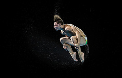 Australia's Matthew Carter during the Men's 3m Springboard at the Optus Aquatic Centre during day eight of the 2018 Commonwealth Games in the Gold Coast, Australia. PRESS ASSOCIATION Photo. Picture date: Thursday April 12, 2018. See PA story COMMONWEALTH Diving. Photo credit should read: Danny Lawson/PA Wire. RESTRICTIONS: Editorial use only. No commercial use. No video emulation.