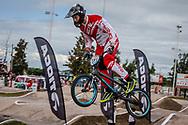 #191 (ANDRESEN Klaus Bogh) DEN at the 2016 UCI BMX Supercross World Cup in Santiago del Estero, Argentina