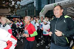 Runners during 16th International Ljubljana Marathon 2011 on October 23, 2011, in Ljubljana, Slovenia.  (Photo by Matic Klansek / Sportida)