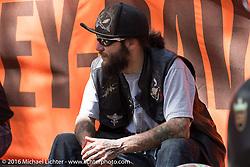 Harley Davidson's Editor's Choice Bike Show at the Broken Spoke Saloon during Daytona Bike Week 75th Anniversary event. FL, USA. Wednesday March 9, 2016.  Photography ©2016 Michael Lichter.