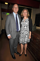 RANDOLPH CHURCHILL and his wife CATHERINE, he is great grandson of war time leader Winston Churchill at the launch of the Imperial War Museum's 70th anniversary commemorating the outbreak of World War 11 held at the Cabinet War Rooms, Whitehall, London on 2nd September 2009.