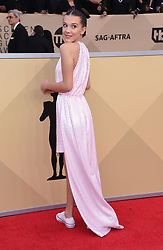 24th Annual Screen Actors Guild Awards held at the Shrine Exposition Center. 21 Jan 2018 Pictured: Millie Bobby Brown. Photo credit: OConnor-Arroyo / AFF-USA.com / MEGA TheMegaAgency.com +1 888 505 6342