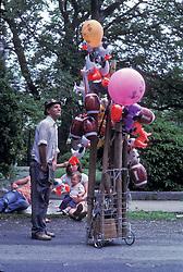 Parade ballon vendor.