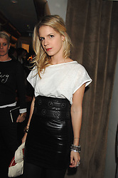 EUGENIE NIARCHOS at a party to celebrate the launch of the Kova & T fashion label and to re-launch the Harvey Nichols Fifth Floor Bar, held at harvey Nichols, Knightsbridge, London on 22nd November 2007.<br />