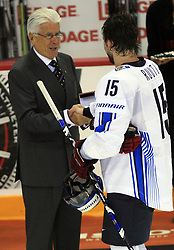 Tuomo Ruutu of Finland best player at play-off round quarterfinals ice-hockey game USA  vs Finland at IIHF WC 2008 in Halifax,  on May 14, 2008 in Metro Center, Halifax, Nova Scotia,Canada. Win of Finland 3 : 2. (Photo by Vid Ponikvar / Sportal Images)