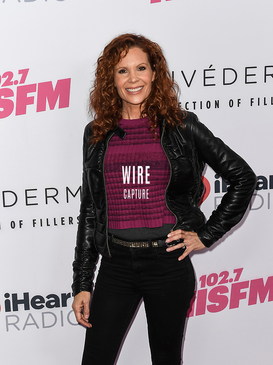 Robyn Elaine Lively at iHeartRadio KIIS FM Wango Tango at the Dignity Health Sports Park.