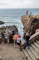 Thunder Hole, Acadia National Park, Maine USA.
