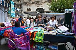 Street market in Santander, Spain<br /> <br /> (c) Andrew Wilson   Edinburgh Elite media
