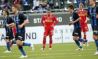 Fotball , 16. mai  2009 , Tippeligaen ,  Stabæk - Sandefjord 4-1<br /> En oppgitt Marciano Jose de Nascimento , Sandefjord