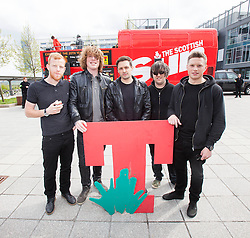 The Vigo Thieves perform at the T in the Park Promo at QMU, Queen Margaret Drive, Musselburgh..© Michael Schofield..