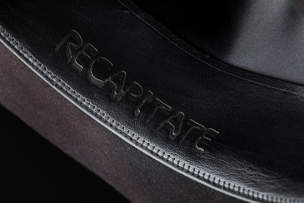 2017 November - Hats from Recapitate Headwear's initial product line. Designed and manufactured by Todd Fink.