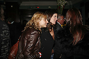 Maryam D'Abo and Kate Mavroleon, Opening night of the  Broadway dance show 'Movin' Out' at the Apollo Victoria theatre. London. 10 April  2006. ONE TIME USE ONLY - DO NOT ARCHIVE  © Copyright Photograph by Dafydd Jones 66 Stockwell Park Rd. London SW9 0DA Tel 020 7733 0108 www.dafjones.com