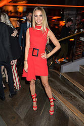 SOPHIE HERMANN at the Fashion Targets Breast Cancer 20th Anniversary Party held at 100 Wardour Street, Soho, London on 12th April 2016.