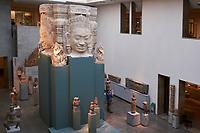 France, Paris (75), Musée Guimet, salle Khmer, Angkor // France, Paris, Guimet museum, Angkor room