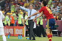 FOOTBALL - UEFA EURO 2012 - DONETSK - UKRAINE  - 1/4 FINAL - SPAIN v FRANCE - 23/06/2012 - PHOTO PHILIPPE LAURENSON /  DPPI - LAURENT BLANC (FRA)