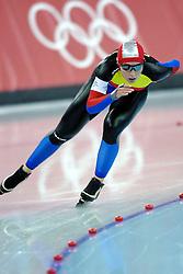 11-02-2006 SCHAATSEN: OLYMPISCHE WINTERSPELEN: 3000 METER DAMES: TORINO<br /> Daniela Oltean (ROM)<br /> ©2006-WWW.FOTOHOOGENDOORN.NL