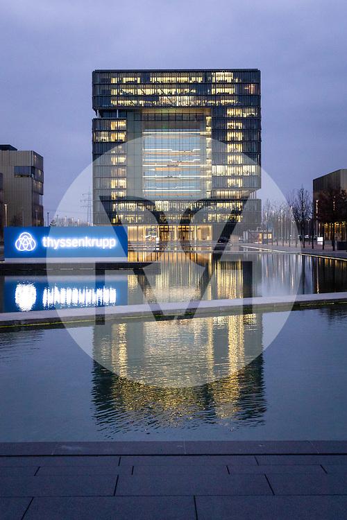 DEUTSCHLAND - ESSEN - Hauptsitz von Tyssenkrupp<br /> - 22. Februar 2019 © Raphael Hünerfauth - https://www.huenerfauth.ch
