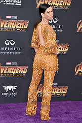 Evangeline Lilly attends the World Premiere of Avengers: Infinity War on April 23, 2018 in Los Angeles, CA, USA. Photo by Lionel Hahn/ABACAPRESS.COM