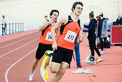Tadej Enci during Slovenian Indoor Championship, Olympic centre Novo Mesto, 13 February 2021, Novo Mesto, Slovenia. Photo by Grega Valancic / Sportida