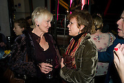 SHEILA HANCOCK; JULIE WALTERS, The Actors Centre's 30th Birthday Party. 1a Tower St, Covent Garden. London. 2nd November<br /> *** Local Caption *** -DO NOT ARCHIVE -Copyright Photograph by Dafydd Jones. 248 Clapham Rd. London SW9 0PZ. Tel 0207 820 0771. www.dafjones.com