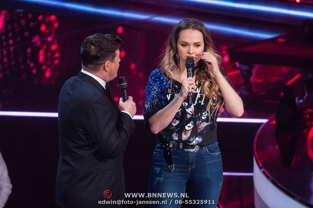 NLD/Hilversum/20180216 - Finale The voice of Holland 2018, Martijn Krabbe