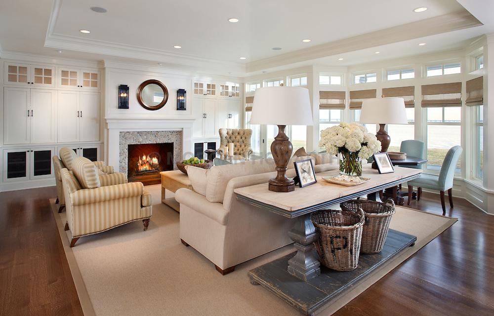 fireplace. 5455 Tates Bank Rd Cambridge, MD Kristen Peakes interor designer Home Living Room