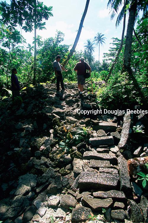 Lelu Ruins, Kosrae, Federated States of Micronesia, Micronesia<br />