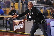DESCRIZIONE : Roma LNP A2 2015-16 Acea Virtus Roma Assigeco Casalpusterlengo<br /> GIOCATORE : Attilio Caja<br /> CATEGORIA : coach allenatore delusione<br /> SQUADRA : Acea Virtus Roma<br /> EVENTO : Campionato LNP A2 2015-2016<br /> GARA : Acea Virtus Roma Assigeco Casalpusterlengo<br /> DATA : 01/11/2015<br /> SPORT : Pallacanestro <br /> AUTORE : Agenzia Ciamillo-Castoria/G.Masi<br /> Galleria : LNP A2 2015-2016<br /> Fotonotizia : Roma LNP A2 2015-16 Acea Virtus Roma Assigeco Casalpusterlengo