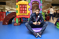 September 27, 2017 - Roma, ITALY - Essevee's Grigoris Kastanos pictured after the arrival of Belgian first league soccer team Zulte Waregem, in Roma, Italy, Wednesday 27 September 2017. Tomorrow Zulte plays the second game of the group stage (Group K) of the UEFA Europa League competition against Lazio in Roma. BELGA PHOTO YORICK JANSENS (Credit Image: © Yorick Jansens/Belga via ZUMA Press)