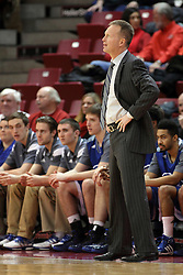 07 January 2015:  Ray Giacoletti  during an NCAA MVC (Missouri Valley Conference) men's basketball game between the Drake Bulldogs and the Illinois State Redbirds at Redbird Arena in Normal Illinois.  Illinois State comes out victorious 81-45.