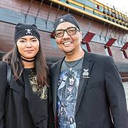 NLD/Amsterdam//20170522 - Film premiere  Pirates of the Caribbean, Jorgen Raymann en dochter