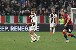 September 26, 2018 - Turin, Piedmont, Italy - Paulo Dybala (Juventus FC)  during the Serie A football match between Juventus FC and Bologna FC at Allianz Stadium on September 26, 2018 in Turin, Italy. .Juventus won 2-0 over Bologna. (Credit Image: © Massimiliano Ferraro/NurPhoto/ZUMA Press)