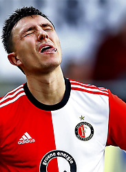 Steven Berghuis of Feyenoord during the Dutch Eredivisie match between ADO Den Haag and Feyenoord Rotterdam at Cars Jeans stadium on November 05, 2017 in The Hague, The Netherlands