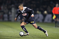 FOOTBALL - FRENCH CHAMPIONSHIP 2009/2010 - L1 - GIRONDINS BORDEAUX v US BOULOGNE - 30/01/2010 - PHOTO ERIC BRETAGNON / DPPI - JUSSIE (BOR)