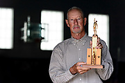 """""""That trophy has special meaning because I went from a goat to a hero,"""" said Grundy E. Newton, who hit the game winning shot his H.S. senior year in a pre-season Platte City basketball tournament."""